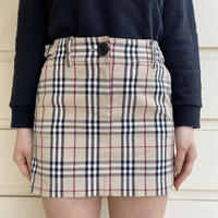 burberry belt mini skirt(No.4320)