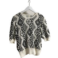 monotone design net tops