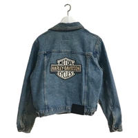 HARLEY DAVIDSON logo denim jacket