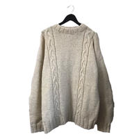 cable knit beige