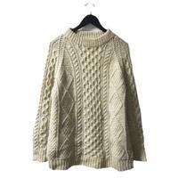 【スペシャルプライス】cable knit ivory