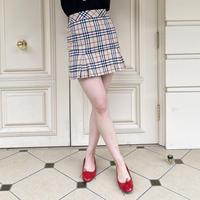 Burberry check mini skirt(No.4399)