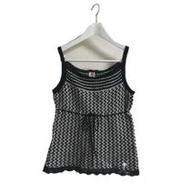 courreges monotone summer knit camisole