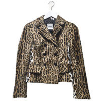 MOSCHINO leopard jacket