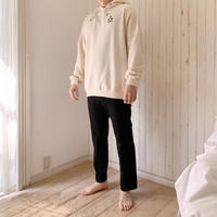 épine embroidery star hoodie ivory Msize