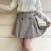 Burberry flare mini skirt(No.4548)