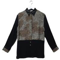 black leopard shirt