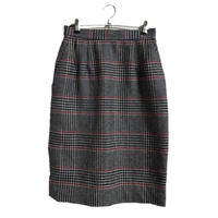 Chloé check skirt