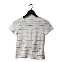 Burberry logo×dot design tee