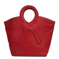 ROBERTA logo bag red
