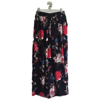 flower wide pants