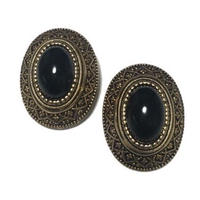 antique design earrings