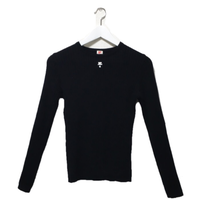 courrèges knit black