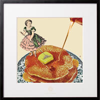 No.0015 「Pancake」パンケーキ aluminum flame