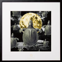 No.0048 「Spawning of the full moon」満月の産卵 aluminum flame