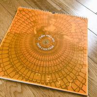 2020年週替わりカレンダー(Orange cover)