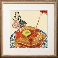 No.0015 「Pancake」パンケーキ wood flame