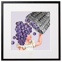 No.0021 「Grape picking」ぶどう狩り aluminum flame