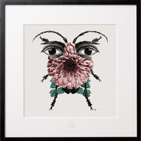 No.0020 「New insect」新種の虫 aluminum flame