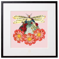 No.0026 「Queen of dragonfly」トンボの女王 aluminum flame