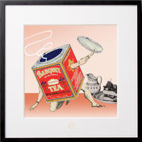 No.0051 「Tea man」紅茶マン aluminum flame
