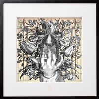 No.0059「Entrance and exit 」入り口、そして出口  aluminum flame