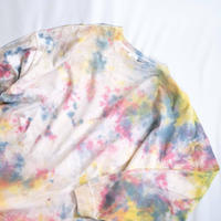 """TEN""タイダイワイドシルエットロングTシャツ <014> size:  L"