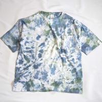 """TEN""タイダイWIDE Tシャツ <019> *ポケット付  size:  M"