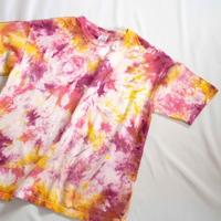 """TEN""タイダイWIDE Tシャツ <010> *ポケット付  size:  M"