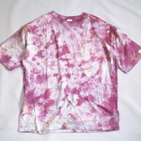 """TEN""タイダイWIDE Tシャツ <026> *ポケット付  size:  L"