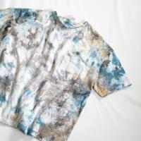 """TEN""タイダイWIDE Tシャツ <002> *ポケット付  size:  S"