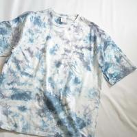 """TEN""タイダイWIDE Tシャツ <014> *ポケット付  size:  XL"
