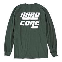 GABBER/HARDCORE L/S TEE / FOREST