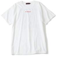 100% BREAKCORE  T-SHIRT/ WHITE
