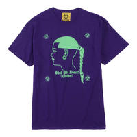 GABBERINA  T-SHIRT/ PURPLE