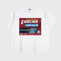 ER-04/ MEDICINE #03 T-SHIRT / WHITE