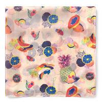 スカーフ マルチカラー フルーツ(095920374)