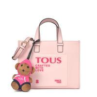 トートバッグ 100 Bears Amaya  M 合成皮革 ピンク【095900836】