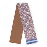ベージュ/ブルーのスカーフ Mossaic Frames(995920117)