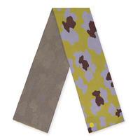 スカーフ BUFANDA BRIDGY LEO / グリーンモーブ(995920179)