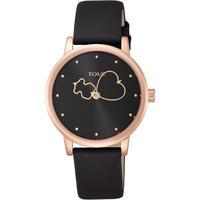 腕時計 Bear Time ブラック / ベルト:ブラックレザー(800350920)