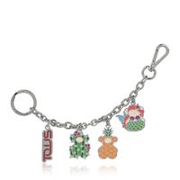 キーリング・バッグチャーム  Summer Bears Chain メタル【095970602】