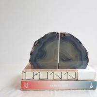 VINTAGE NATURAL STONE  OBJECT / BOOKEND