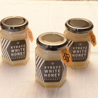 KYRGYZ WHITE HONEY 180g   ×    2個セット