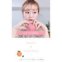 夏肌コラボ【桃桃×OceanBlue】記念壁紙ダウンロード