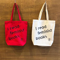 I read feminist books トートバッグ
