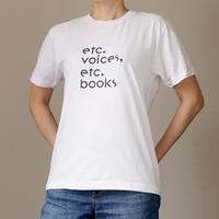 etc.voices, etc.books Tシャツ