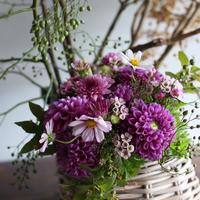 季節のお花「おまかせブーケ」5500円