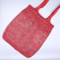葛トートバッグ(レッド)Kudzu Tote Bag (Red)