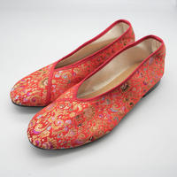 台南刺繍靴(レッド)Embroidery shoes (Red)